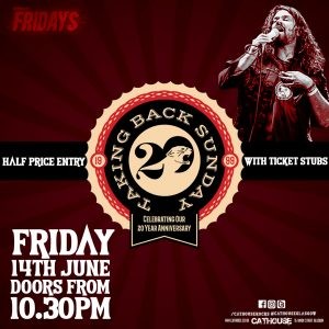 Special events at cathouse rock club - Taking Back Sunday Afterparty