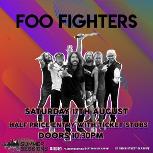 Cathouse Rock Club Special Events - Summer Sessions - Foo Fighters Afterparty
