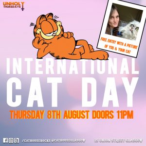 Cathouse Rock Club Special Events - International Cat Day