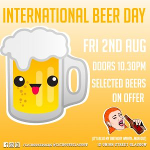Cathouse Rock Club Special Events - International Beer Day