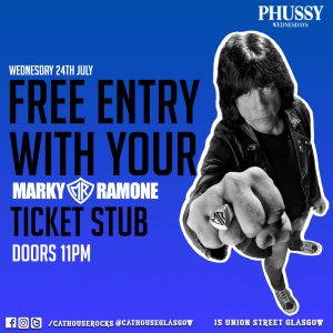 Cathouse Rock Club Special Events - Marky Ramone Afterparty
