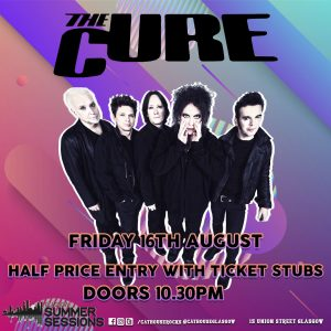 Cathouse Rock Club Special Events - Summer Sessions - The Cure Afterparty